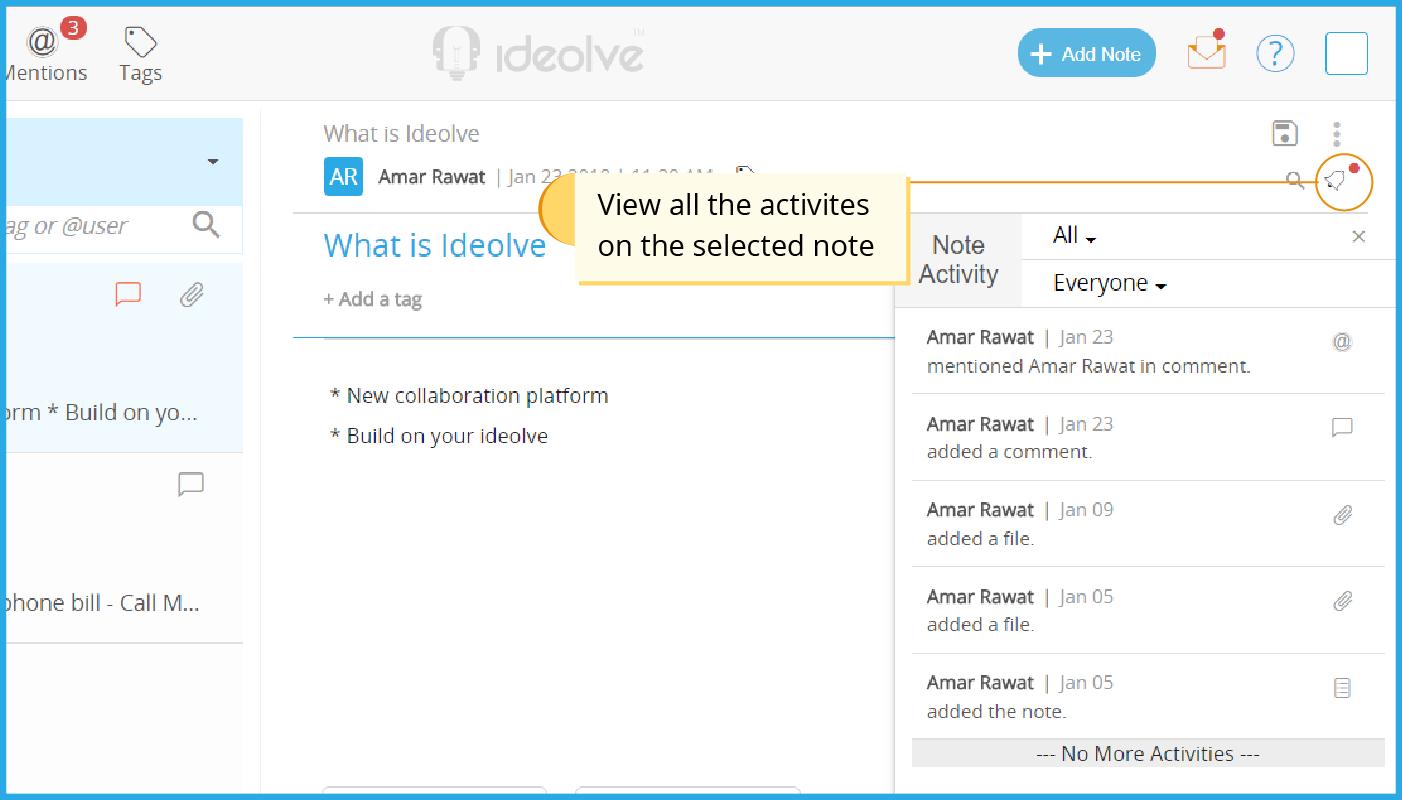 Note Activity